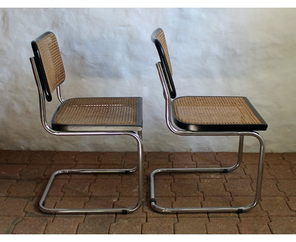 Pair of Marcel Breuer chairs