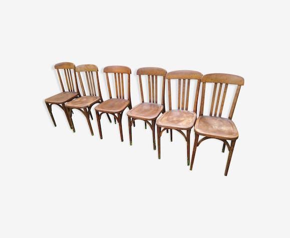 Set de 6 chaises bistrot Stella