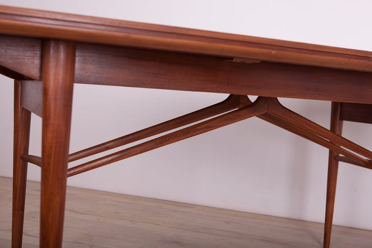 Mid century Teak Extendable Dining Table by Robert Heritage for Archie Shine, 1960s