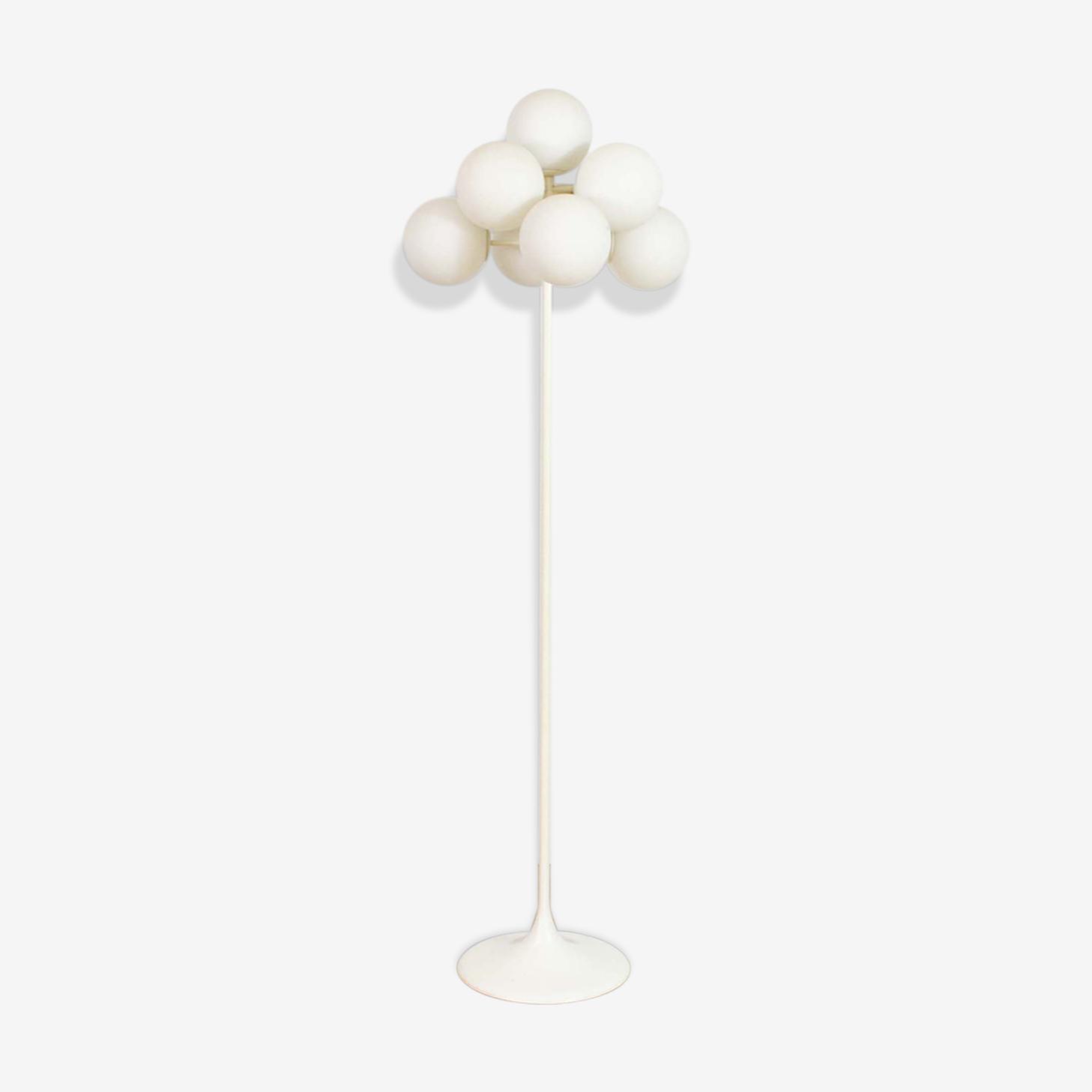 Floor lamp Temde lights by Max Bill