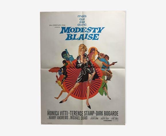 Modesty Blaise Monica Vitti cinema poster 60x80cm
