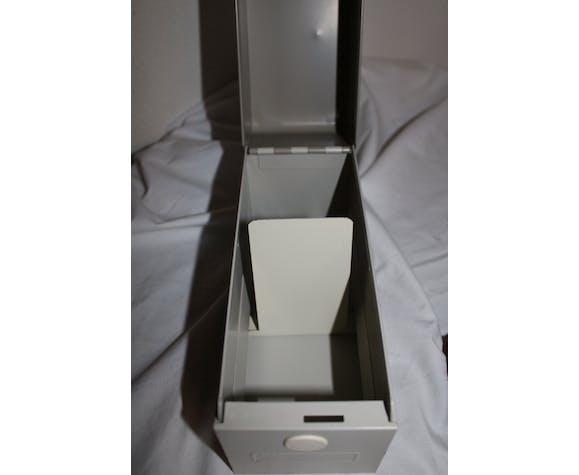 VAL-REX vintage metal card box