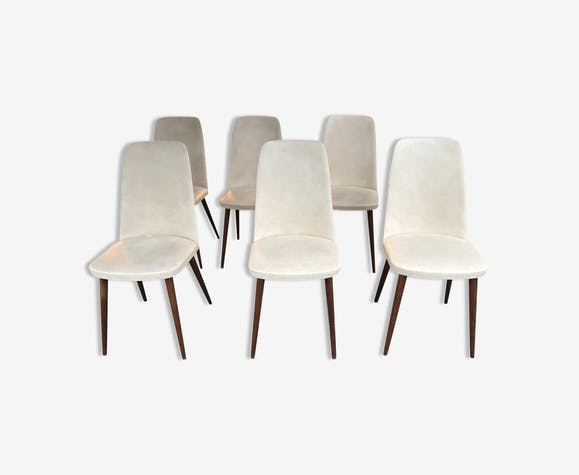 Set of 6 chairs 1950/1960