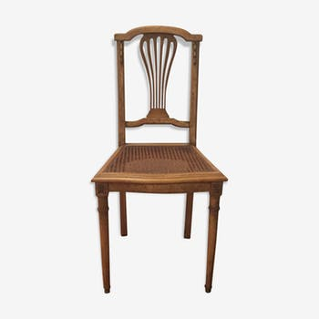 Cane wood chairs