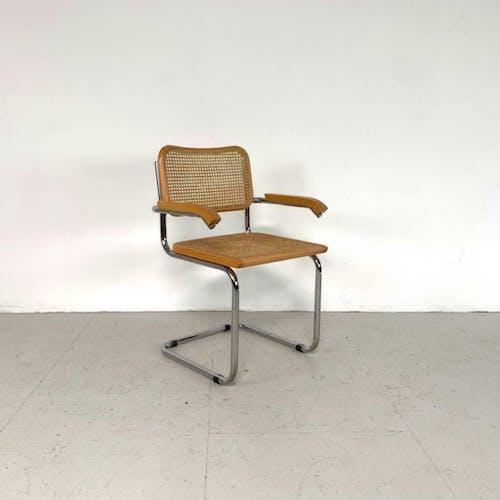 Chaise Cesca Carver Marcel Breuer vintage