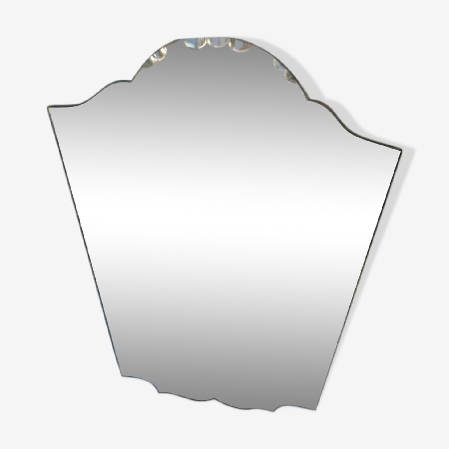 Miroir années 60 55x85cm
