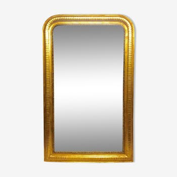 Miroir en bois Louis Philippe 124 cm