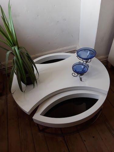 Table papillon vintage années 70