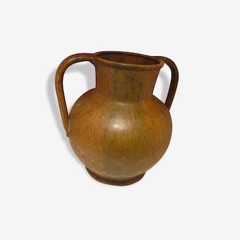 Vase pot en céramique Bavent - XXème