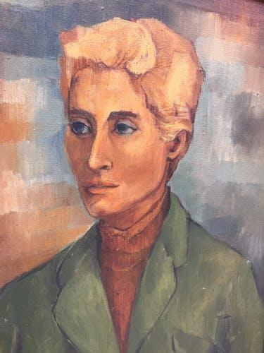 Tableau peinture portrait femme