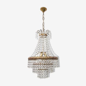 Chandelier with stamps