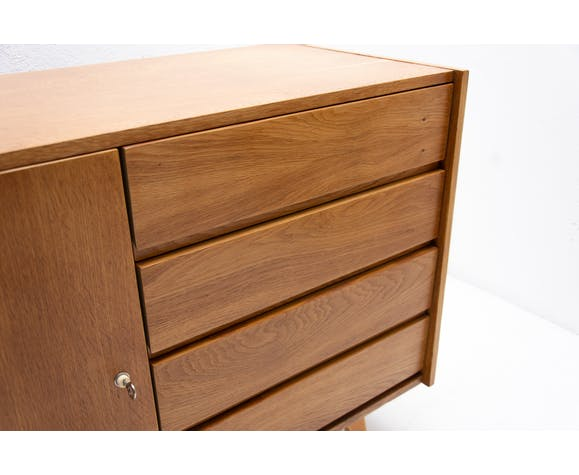 Chest of drawers n° U-458 by Jiri Jiroutek, Czechoslovakia, 1960