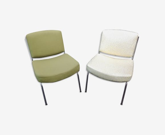 Pair of heater chairs 1960