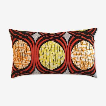 Bamako yellow cushion