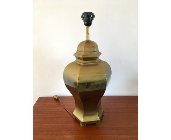 Lampe en laiton vintage
