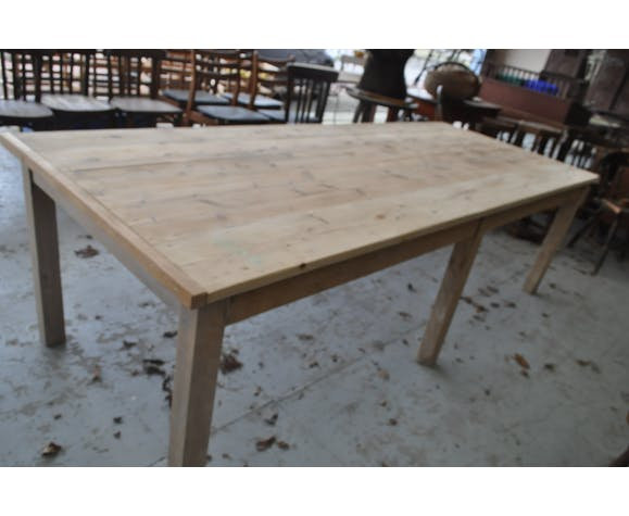 Ancienne table d'atelier