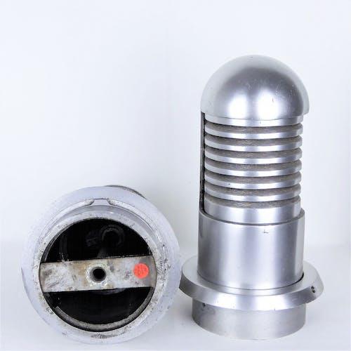 Vintage aluminum cast-iron lamps 1960