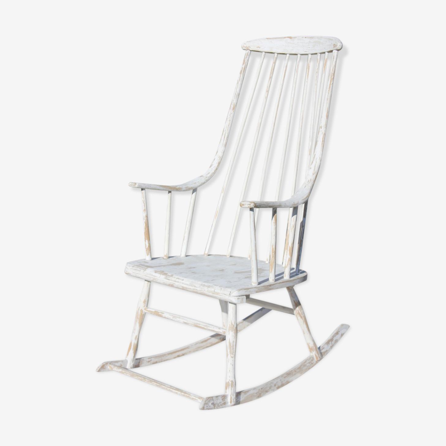 Rocking chair Lena Larsson modèle Grandessa
