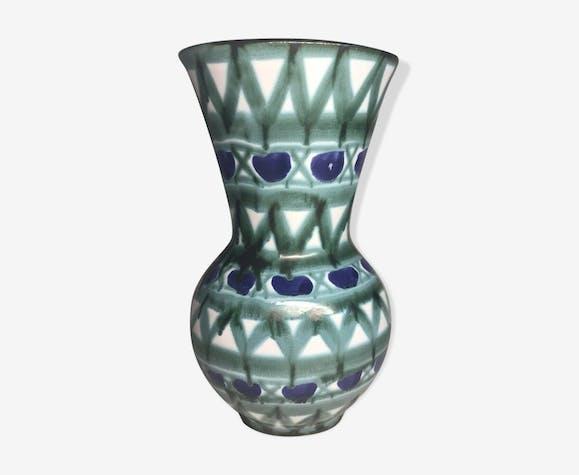 Vase signé R.P. Robert Picault Vallauris vintage