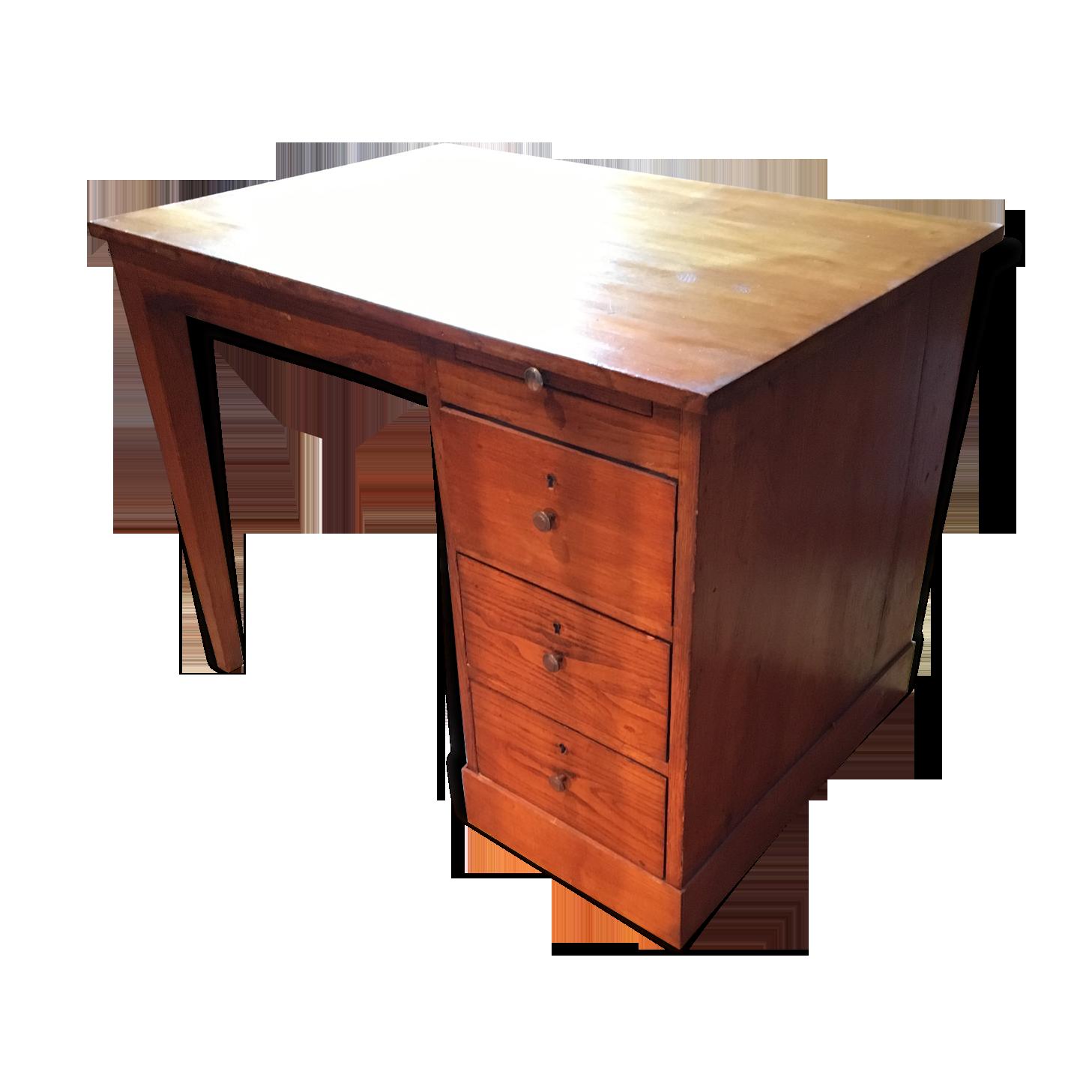 Bureau chêne massif année bois matériau bois couleur