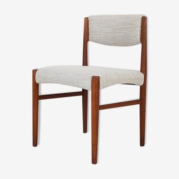 Scandinavian modern teak dining chair, 1960's
