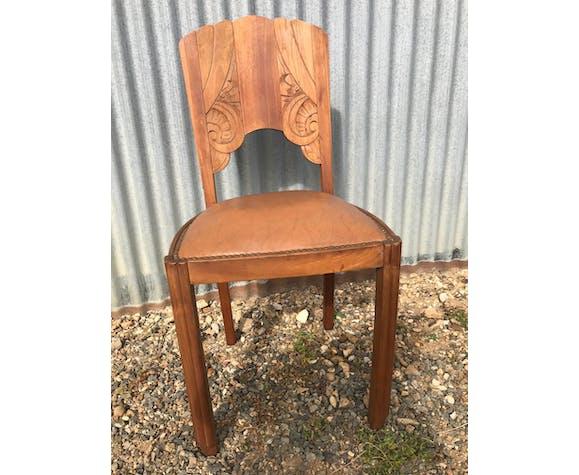 6 chaises art deco