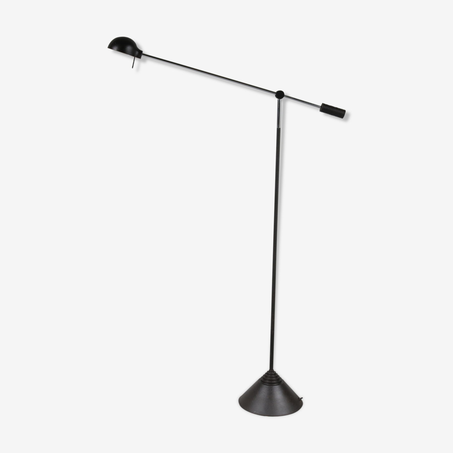 1970s Counter balance floor lamp  manufactured by Luci in Italy