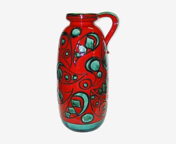 Vase de sol de Scheurich Germany 1960-70 inspiration Miro