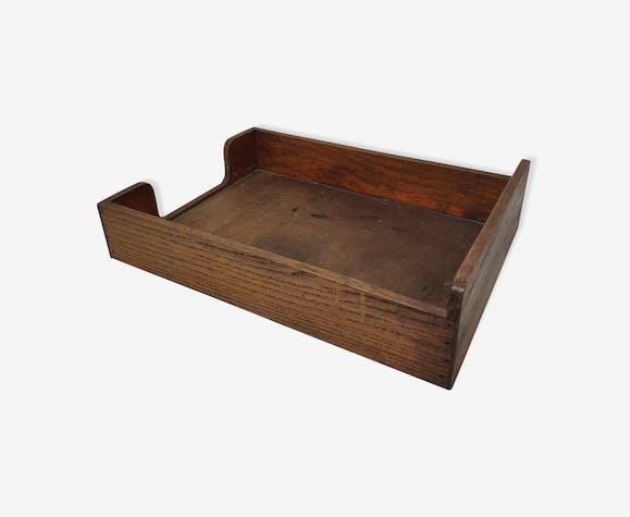 Wooden document holder