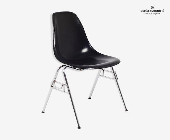 Chaise DSS de Charles et Ray Eames pour noire Herman Miller 1972