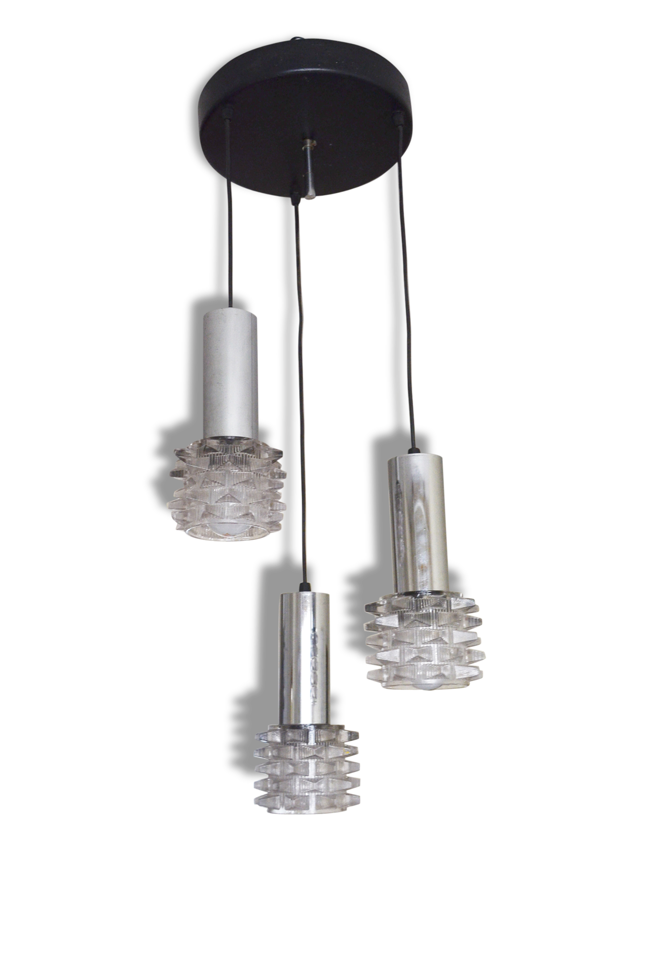 Suspension Cascade Raak Amsterdam Verre Mtal Annes Lustre Luminaire With  Luminaire En Verre Suspension