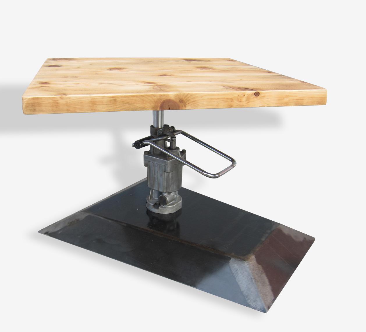 Table basse mécanique