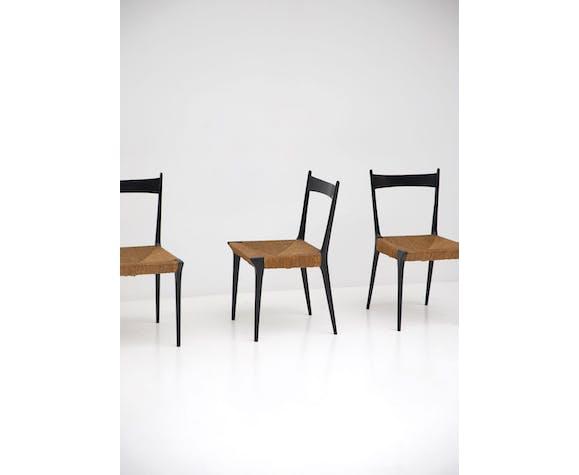 Ensemble de chaises s2 par Alfred Hendrickx pour Belform