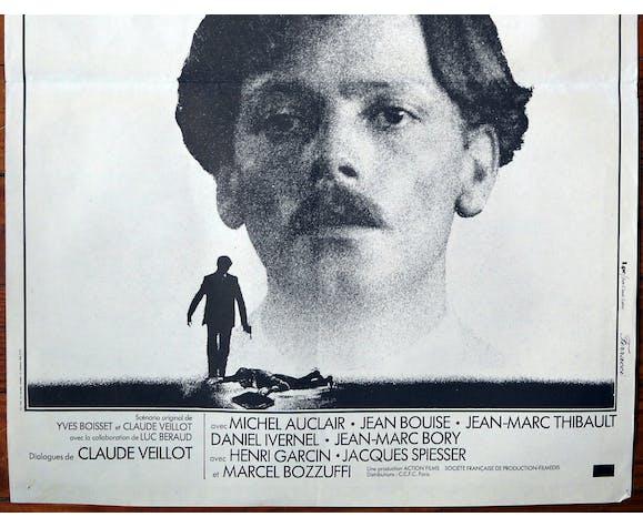 """Affiche cinéma originale """"Le Juge Fayard dit le Sheriff"""" Patrick Dewaere"""