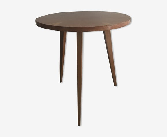 Table basse d\'appoint vintage - bois (Matériau) - bois ...