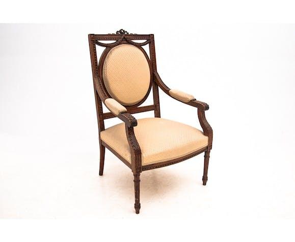 Paire de fauteuils de style Louis XVI, France, vers 1880