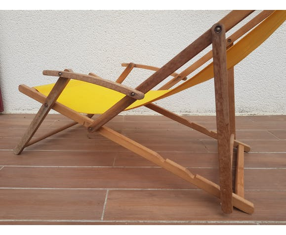 Chaise longue vintage