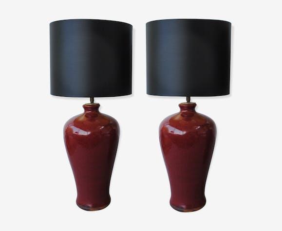 Chine LampesPieds En Céramique Yxing Paire De Artisanale 7bfIY6gyv
