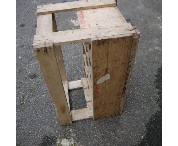 Caisse bois avec casier