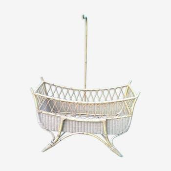 Child bed rattan