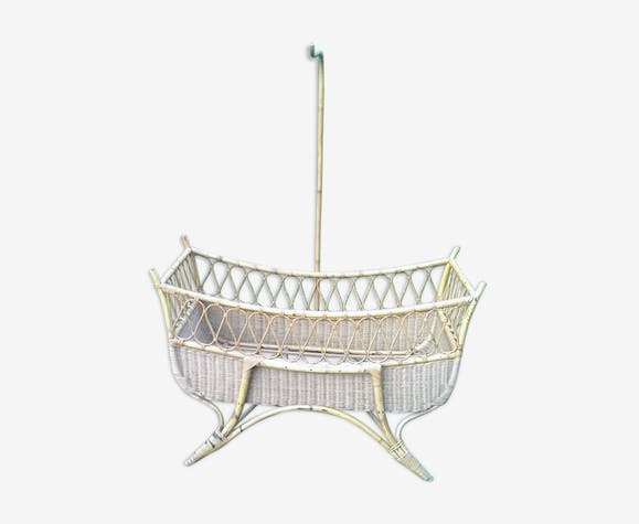Child bed rattan