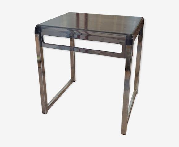 table basse en plexiglas plexiglas bleu vintage. Black Bedroom Furniture Sets. Home Design Ideas