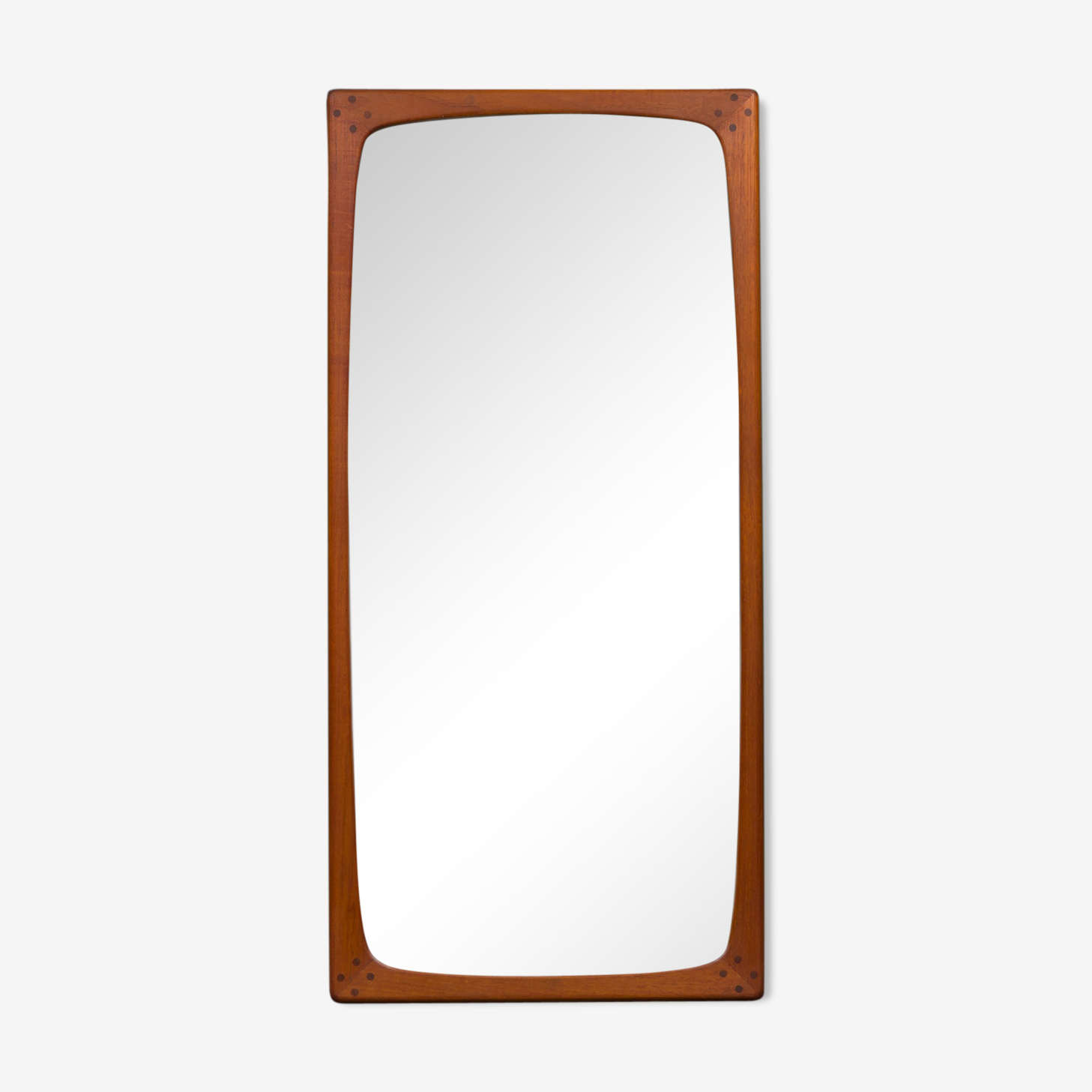 Miroir en teck de danois 47x100cm