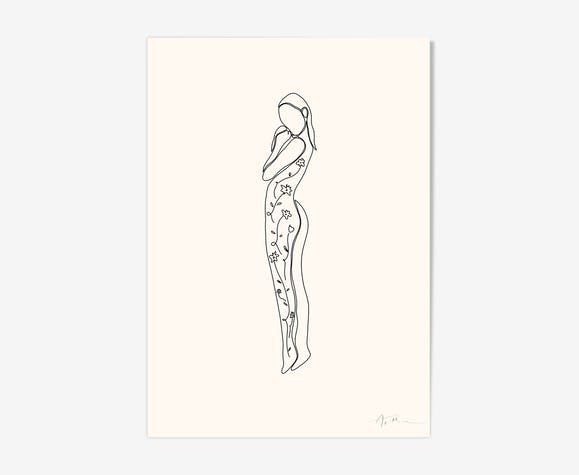 """ink - indiscretion"" illustration"