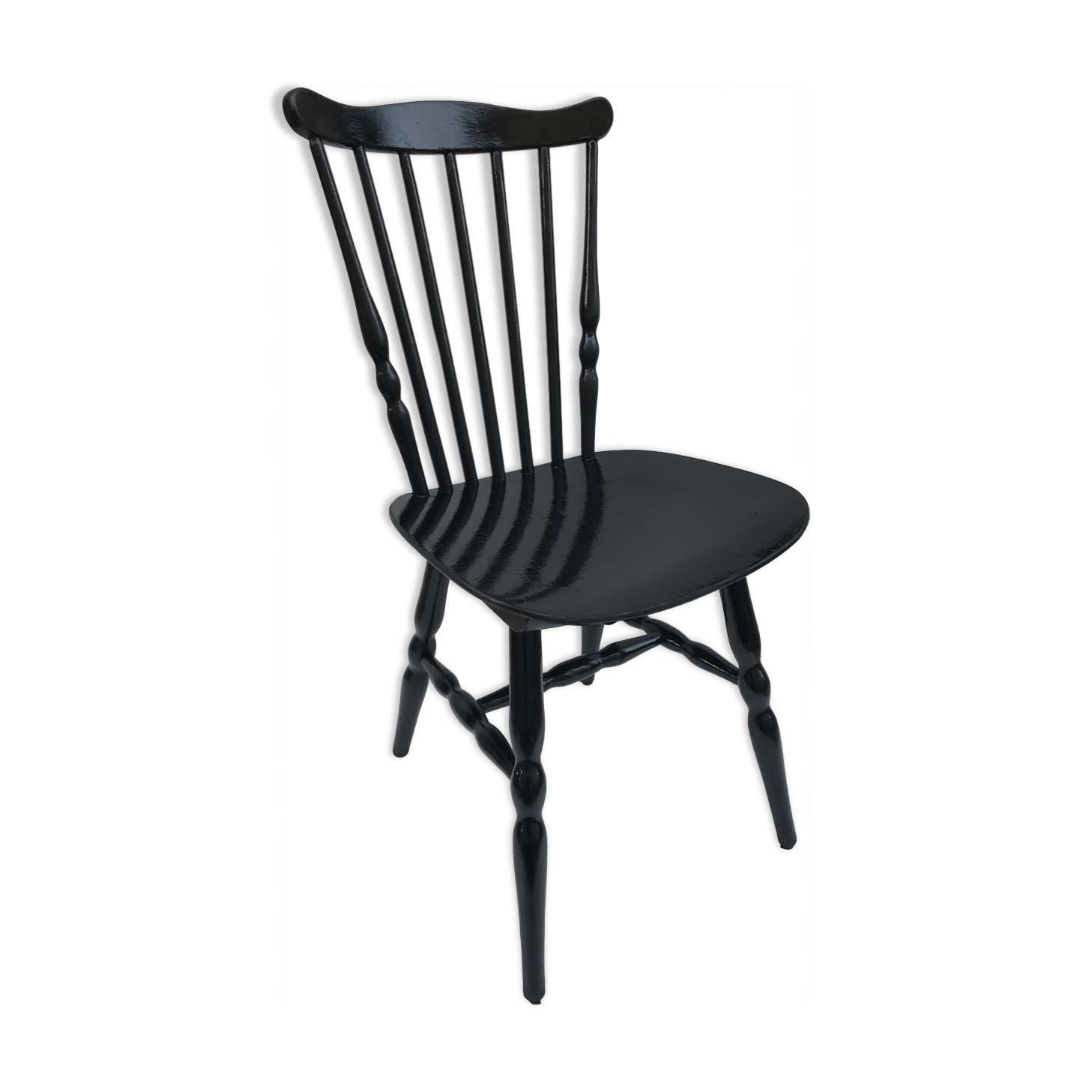 chaises bistrot noires great ikea chaises noires. Black Bedroom Furniture Sets. Home Design Ideas