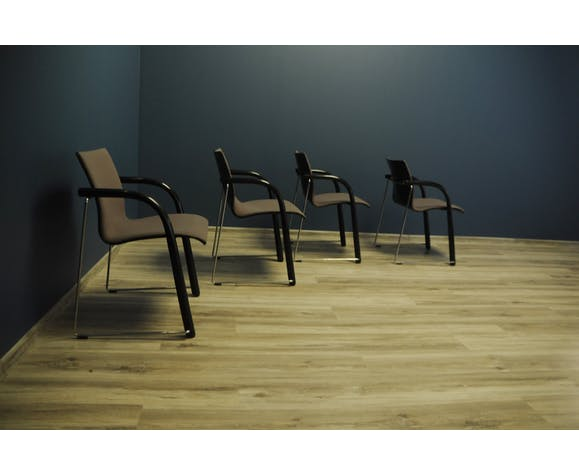 Set Of 4 armchairs by Thonet