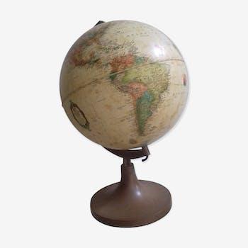 Lamp globe land map