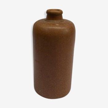 Bouteille grès marron clair