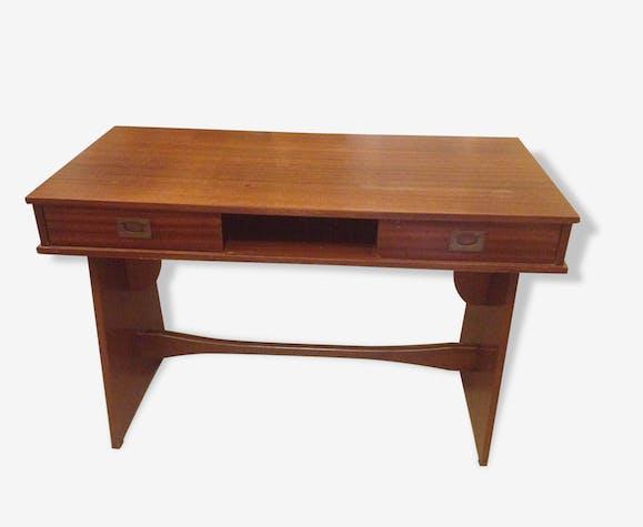 Bureau gautier teck bois couleur vintage 78820