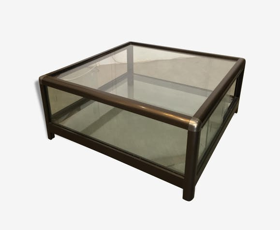 Table Basse Vitrine Glass And Crystal Design 153058